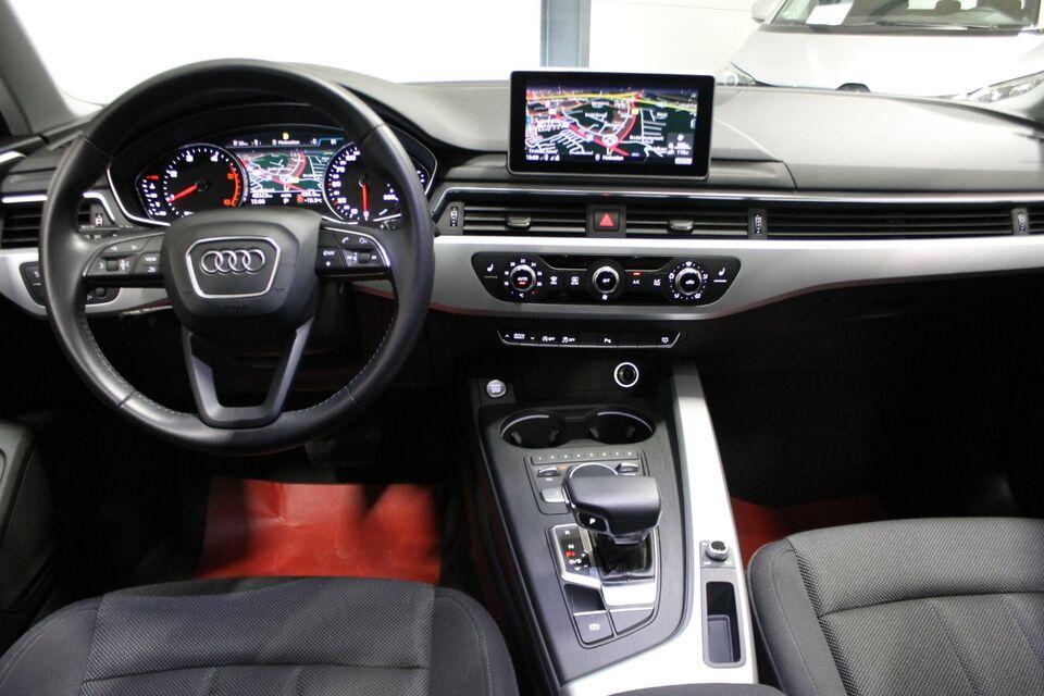 Audi A4 2,0 TDi 190 S-tr. Diesel aut. Automatgear modelår