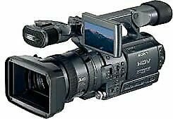 Sony Hdr Fx1 Digital Hd Video Camera Recorder Camcorder 822766009000 Ebay