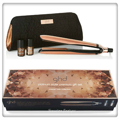 GHD Copper Luxe Platinum Styler Premium Gift Set Limited Edition BRAND NEW