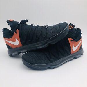 buy popular 40a44 ac30b Image is loading Nike-Zoom-KD10-Texas-Longhorns-Promo-938150-001-