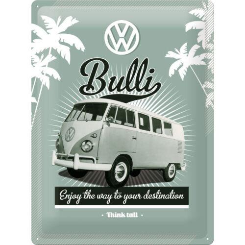 Volkswagen VW Bulli Poster Samba 50er T1 Bus Legende Schild  *626