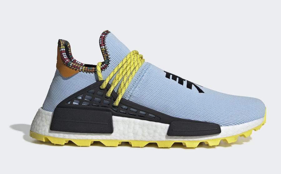 Adidas Pharrell Williams Human Race Nmd Hu Inspiration 8-13 Trasparente Cielo