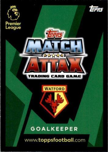Match Attax 18//19 Ben Foster Watford Fan préférée nº 308