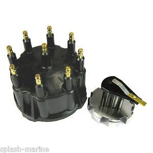 Mercruiser 7 4l 454 Mag V8 Thunderbolt Iv V Hei Distributor Cap Rotor Kit Ebay