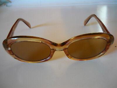 Willensstark Metzler Zeiss Umbral Sonnenbrille 12 Etui Vintage Original 60er Jahre