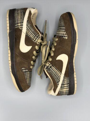 Nike Dunk Sb Low Tweed Size 9.5