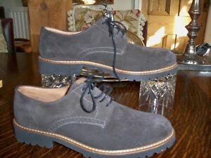 Ikon Original Franklin Homme Designer En Cuir et Daim Rétro Derby Desert Chaussures