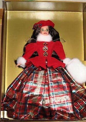 Joya Princesa Barbie Morena 1996 LED Convención De Oso De Peluche Y Caja firmado Raro