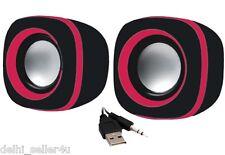 Quantum QHM602 Speaker USB 2 Powered 3.5 mm Mini Speakers + Bill