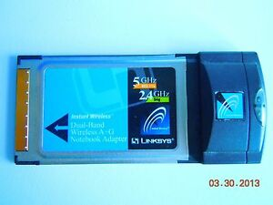 Linksys WPC55AG Driver