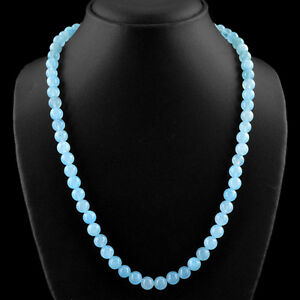 247-75-CTS-NATURAL-20-INCHES-LONG-RICH-BLUE-CHALCEDONY-ROUND-BEADS-NECKLACE