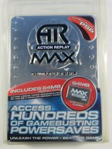ACTION REPLAY MAX SONY PLAYSTATION PORTABLE (PSP) EURO NEW