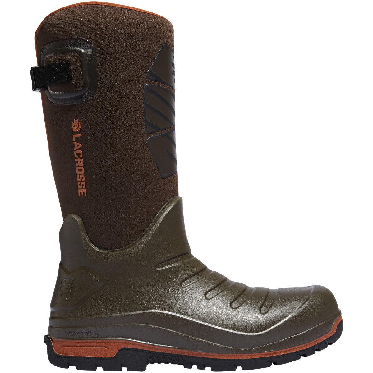 Lacrosse Uomo 664552 664552 664552 Aero Insulator 14  Marrone Outdoor Winter Snow scarpe stivali a80383