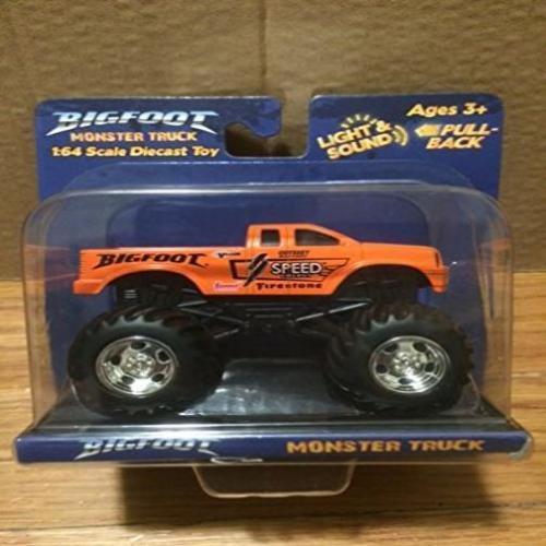 Toy State camión Monstruo Pie Grande-Naranja Nuevo