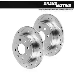 Rear-Drill-Slot-Brake-Disc-Rotors-2007-2008-2009-2010-2011-2012-2013-Mini-Cooper