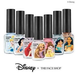 The-Face-Shop-Trendy-Nails-7ml-Disney-Princess-Edition-Special-Price