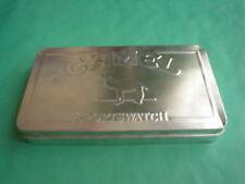 "CAMEL - boîte montre - tin  ""sportswatch"""