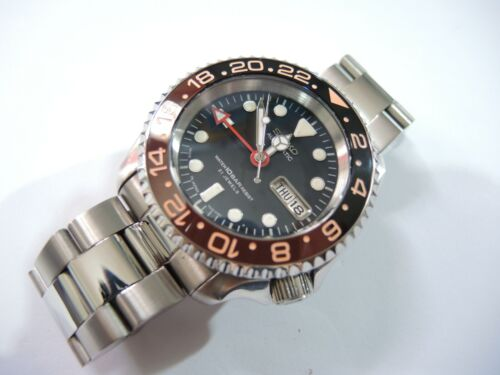 NEW CERAMIC ROOTBEER INSERT /& SAPPHIRE DOME CRYSTAL FITS SEIKO DIVER/'S SKX007