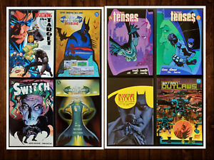 Lot-of-8-Batman-TPB-Graphic-Novels-Gorgeous-Assortment-ALL-NM-See-Listing