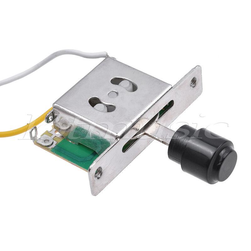 Guitarra precableado Arnés de cableado cableado cableado kit para Fender Tele piezas ollas de 10 piezas de 3 vías de 250K d7933c