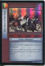 Lord Of The Rings Foil CCG Card RotK 7.C256 They Sang As They Slew