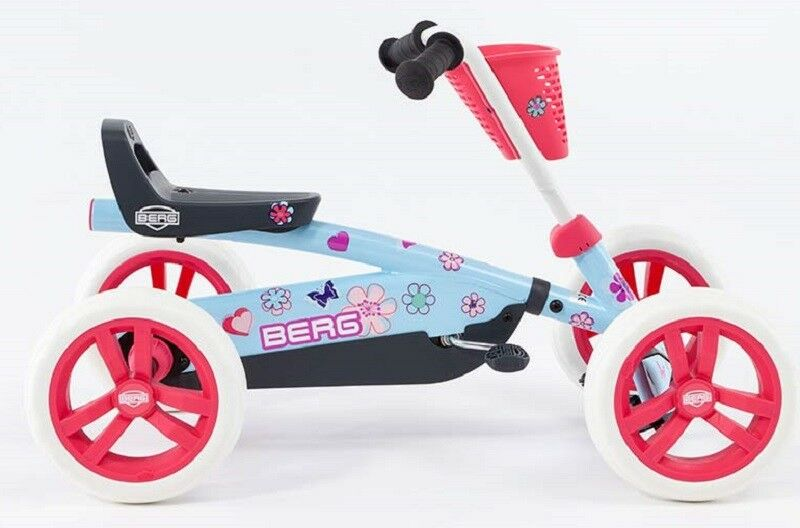 Berg Buzzy Bloom Kids Pedal Car Go-Kart bluee 2  - 5 Years NEW  come to choose your own sports style