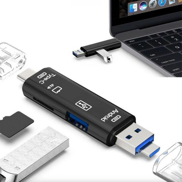 Micro USB SD TF Memory Card Reader OTG Adapter Universal USB USB 3.0 Type C