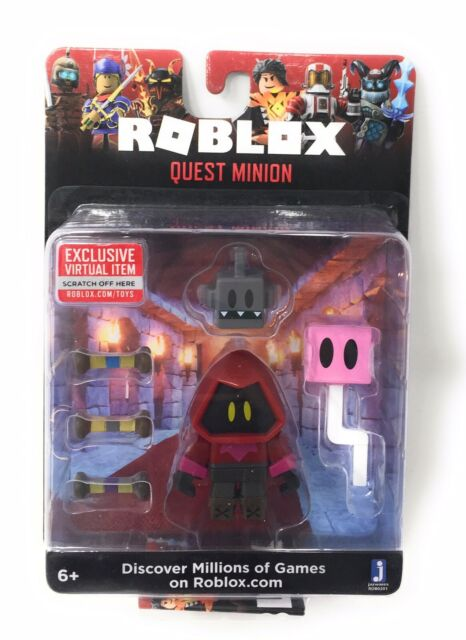 2019 Roblox Quest Minion Action Figure With Virtual Item Game Code