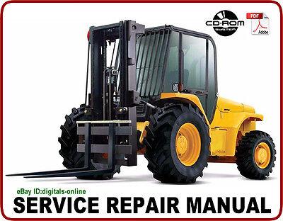 JCB 926 930 940 Rough Terrain Forklift Service Repair Manual CD EBay