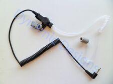 High Noise Acoustic Tube Ear Piece 3.5mm for Shoulder Mic Motorola Kenwood