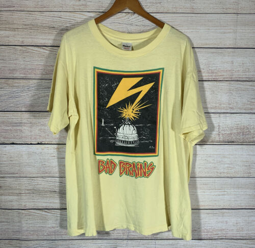 Vintage 90s Bad Brains T-Shirt Punk Reggae Murina