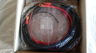 87-93 MUSTANG POLICE BATTERY CABLE SET 5.0 SSP NEW MADE IN THE USA