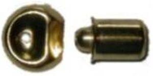 """Brass Plated  D1451 Bullet Catch 1//4/"""""""