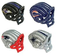 NFL FOOTBALL TEAMS INFLATABLE BLOW UP HELMET CAP HAT OFFICIALLY LICENSED