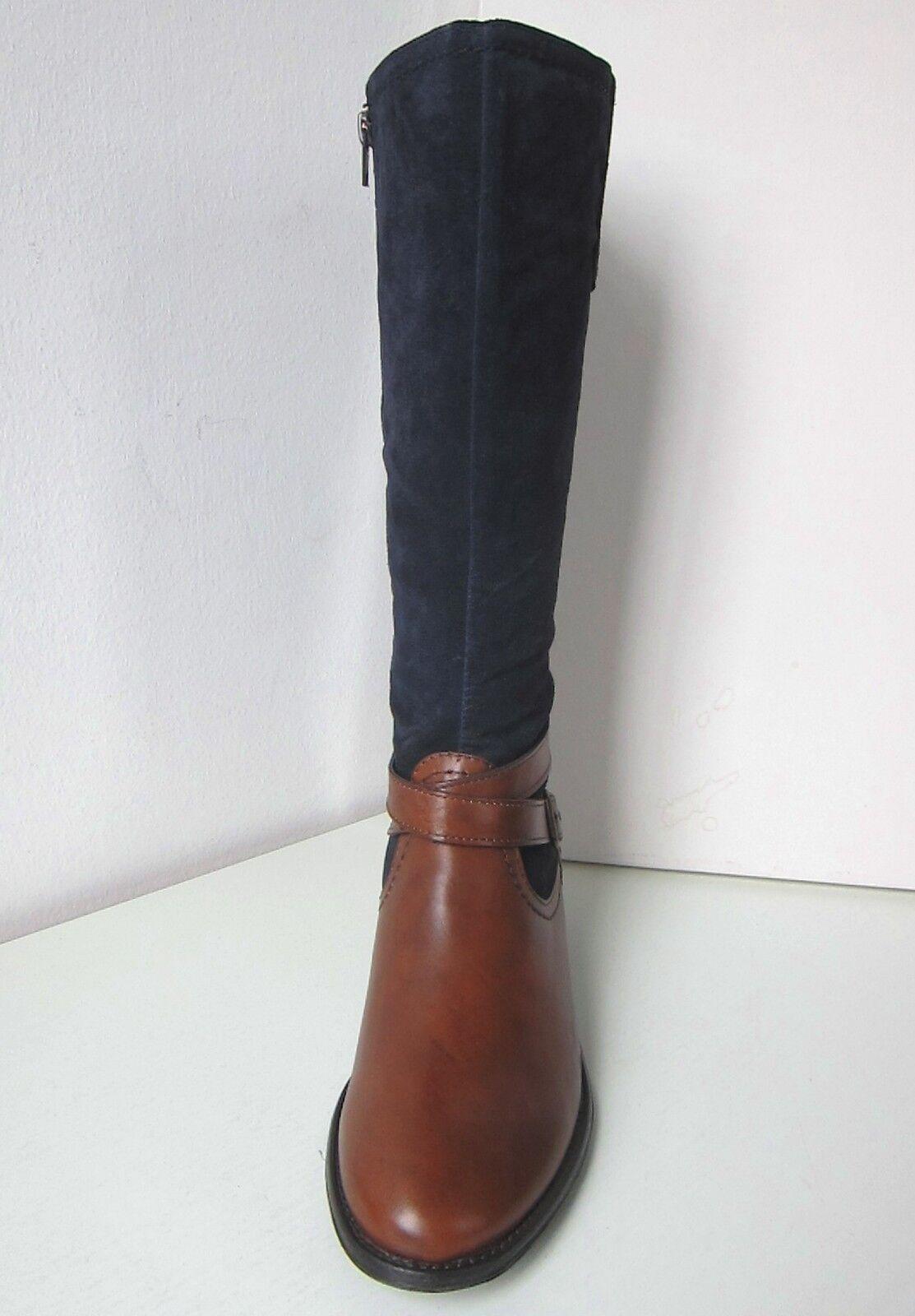 Tamaris Reit Reit Reit Stiefel Mix blau muskat Gr 38 Boots