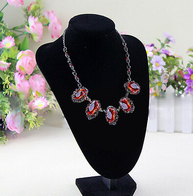 NEW Utility Shop Velvet Necklace Earring Jewelry Display Bust Stand ATUS
