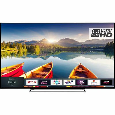 Toshiba 43U5863DB 43 Inch 4K Ultra HD A+ Smart LED TV 3 HDMI
