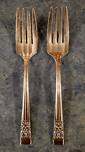 1936-KING-EDWARD-VIII-Oneida-Community-Silverplate-CORONATION-Salad-Forks-6-3-8-034