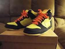 VINTAGE MEN'S NIKE DUNK HIGH 317982-772 HOMER SIMPSON SIZE 10 NICE