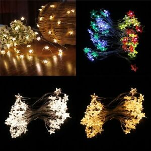 Battery-Operated-Pathway-Star-Lamp-Led-String-Lights-Home-Decor-Fairy-Light