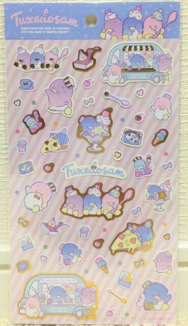 Kawaii Cute Sanrio Character Tuxedosam Sticker Sweets Ice Cream Cafe Wagon JAPAN