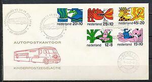 KINDERZEGELS-1968-AUTOPOSTKANTOOR-18-XII-68-S-GRAVENHAGE-ONBESCHREVEN-OPEN-VA351