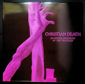Christian-Death-039-An-Anthology-of-034-Live-034-Bootlegs-039-1986-LP-unplayed-stock