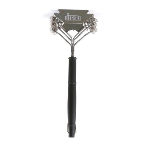 """18/"""" Safe BBQ Grill Cleaner /& Scraper LitGrill Bristle Free Grill Brush"""