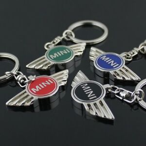 662fe524498 Details about Metal Key Ring Car Logo Pendant Keychain Crest Keyring Alloy  Keyfob for BMW Mini