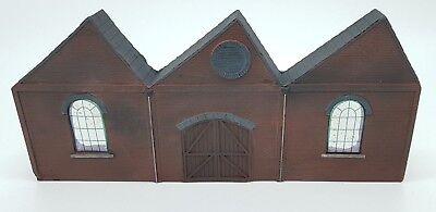Coscienzioso Detailed Model Railway Low Relief Factory Front With Door For Ho / Oo 007