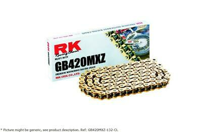 Gb 420 Mxz 132 Clip Link 420 Non-seal Replacement Drive Chain / Gold - Rk