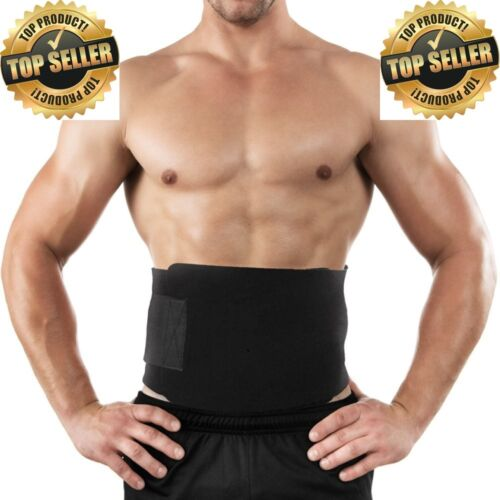 Waist Trimmer Adjustable Belt Abdominal Excercise Sweat Abs Water Weight Loss