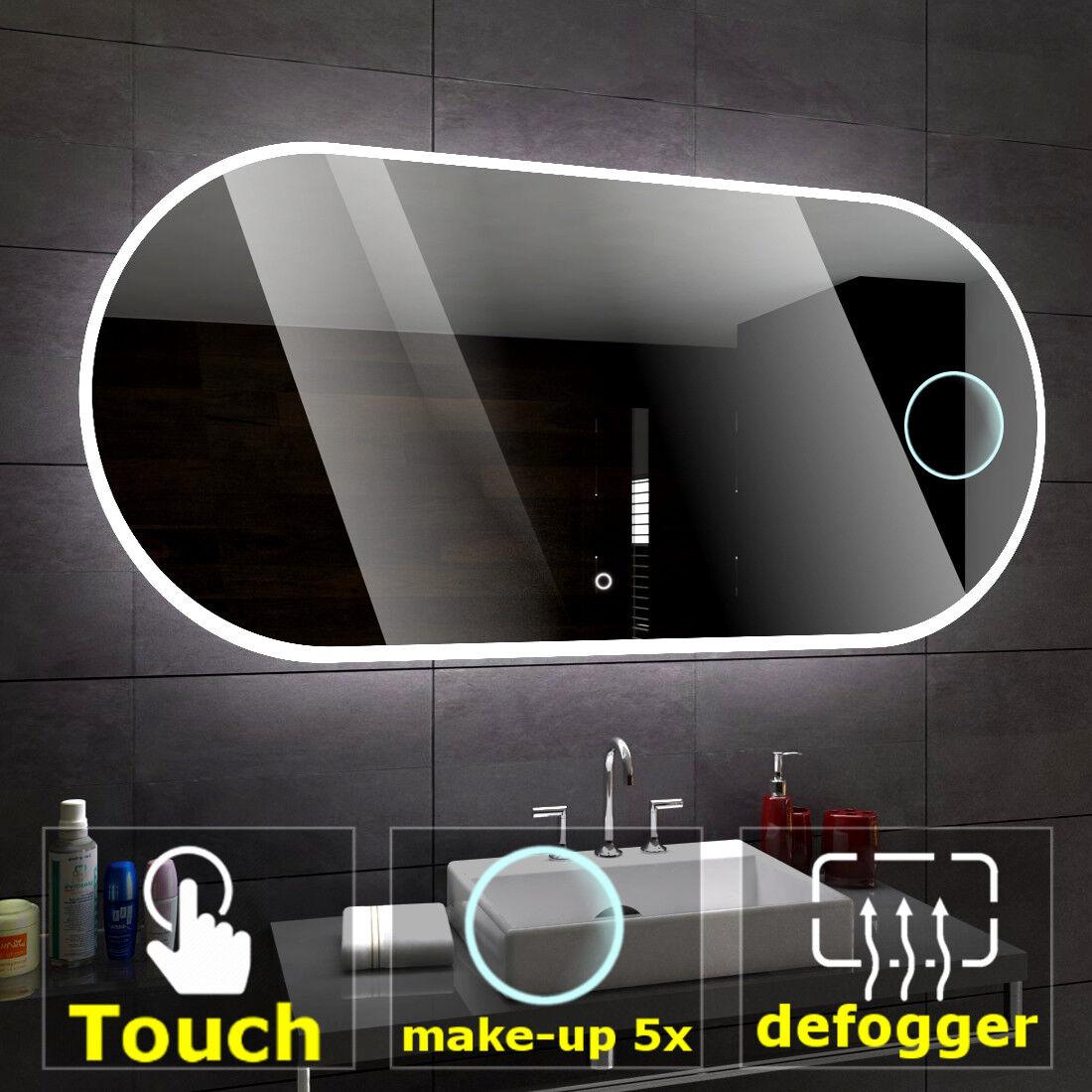 éclairé del Miroir salle de bain LED interrupteurs ...