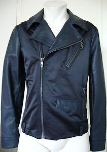 Jesang Black Diesel Mit Etikett Jacket 46 Leather Gold Gr Lederjacke Giacca Neu O6qTEnHdwq